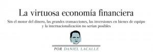 la virtuosa economia financiera