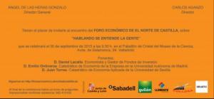 Hablando se entiende la gente Presentación Valladolid