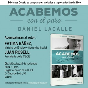 INVITACION CEOE DANIEL LACALLE