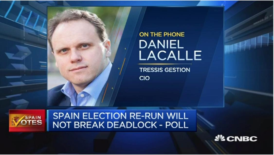 VIDEO: Entrevista en CNBC sobre las elecciones en España.