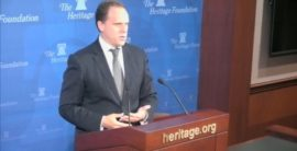 Video: Escape from the Central Bank Trap presentation at the Heritage Foundation, Washington