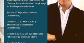 US and UK Conferences and Keynote Speeches Sept-Nov