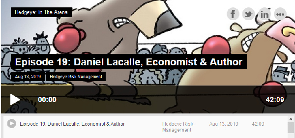 """In The Arena"". Podcast: One-On-One with Daniel Lacalle"